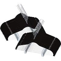 Utopia Home Premium Velvet Hangers - Heavy Duty - Non Slip - Velvet Suit Hangers with Clips for Pants or Skirt Hanger