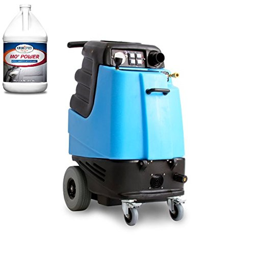 1003DX Speedster Deluxe Heated Carpet Extractor and Two Cases (8 Gallons) of Mo' Power Carpet & Upholstery Extraction Cleaner - Bundle 2 Items - Heated Box Extractor