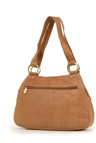 6819 Gigi Leather Midi Antique Bag Shoulder Gigi Midi Honey Othello RHAAnga