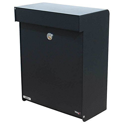 (Qualarc ALX -GRM-BK Allux Series MailBoxes Grandform, Black by Qualarc)