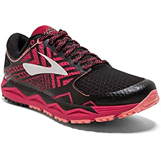 Brooks Women's Running Shoes, Multicolour Pink Black Coral 623, 8 us