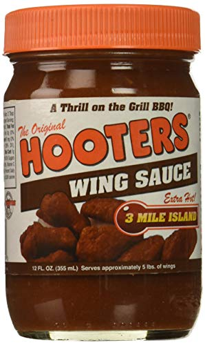 Hooters Sauce Wing 3 Mile, 12 oz