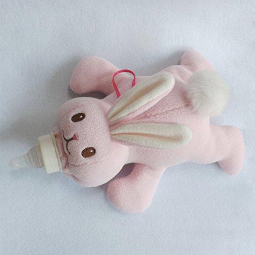 QHGstore Baby Flasche Wärmedämmung Baby Flasche Taschen Plüschtiere
