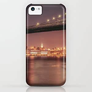 Society6 - Empire State Building And Manhattan Bridge - New Y?­ iPhone & iPod Case by Vivienne Gucwa by supermalls
