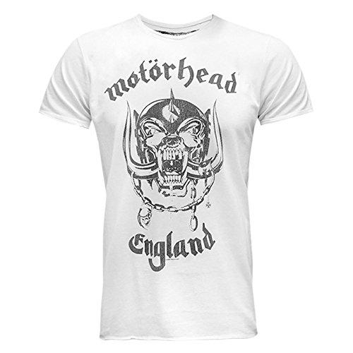 'motorhead' Amplified shirt T Homme Blanc Officiel RRqUy4OA