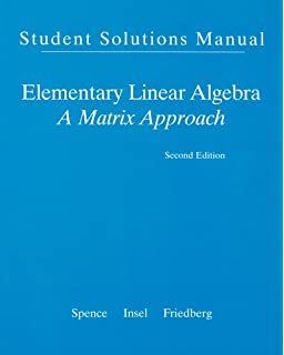 Elementary linear algebra classic version 2nd edition pearson student solution manual for elementary linear algebra fandeluxe Gallery