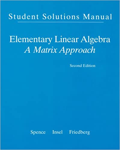 Amazon.com: Student Solution Manual for Elementary Linear ...