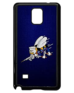 Case for Samsung Galaxy Note 4 - US Naval Construction Force (CBs, SeaBees), logo from ExpressItBest.com