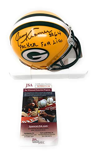 Jerry Kramer Green Bay Packers Signed Autograph Mini for sale  Delivered anywhere in USA