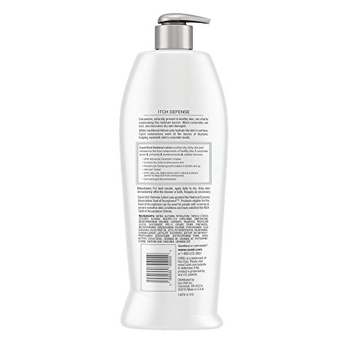Body lotion for dry itchy skin
