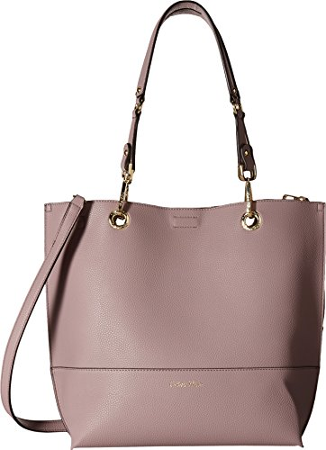Calvin Klein Sonoma Faux Leather Reversible North/South Tote, Dusty Lilac
