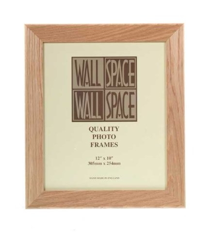 12 X 10 40mm Solid Oak Wooden Photo Frames Amazoncouk