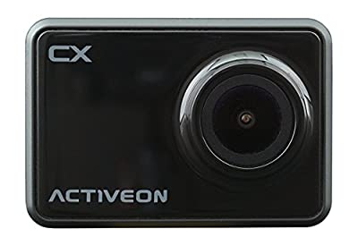 Activeon CX Action Camera (Onyx Black)