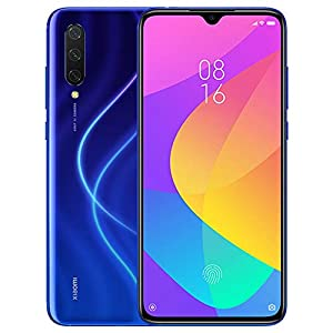 "Xiaomi Mi 9 Lite 64GB + 6GB RAM, 6.39"" AMOLED FHD+ LTE 48MP AI Triple Camera Factory Unlocked Smartphone – Global Version (Aurora Blue)"