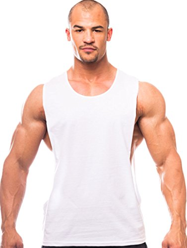 Price comparison product image Muscle Cut Workout Scoop Neck Top with Open Sides - Made in the USA