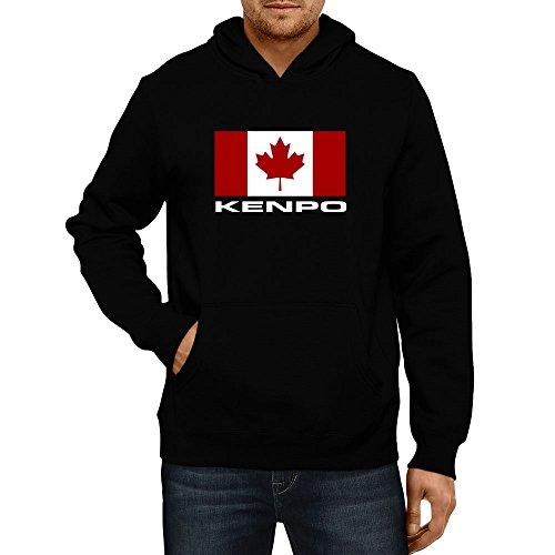 Kenpo Mens Hoodie (Idakoos - FLAG CANADA Kenpo - Sports -)