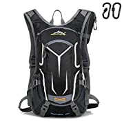Yovanpur Cycling Backpack for Men, 18L Waterproof Bike Backpack Breathable and Lightweight Running Backpack for Fitness…