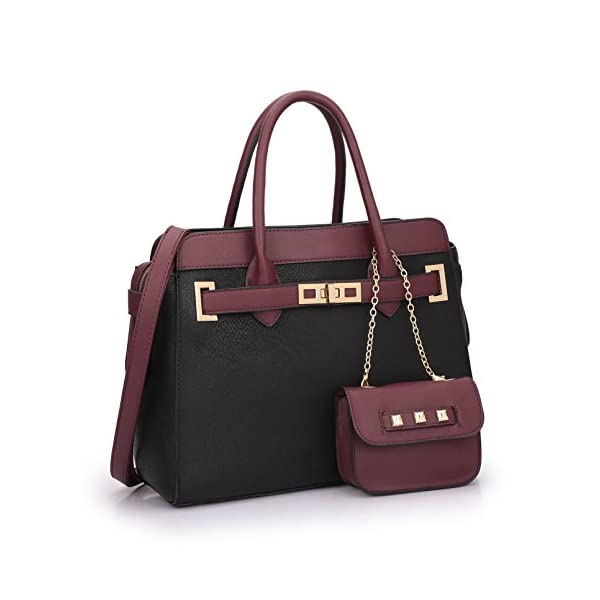 Women-Fashion-Purses-Handbags-Ladies-Satchel-Tote-Shouler-Bags-with-Matching-Coin-Purse-Wallet