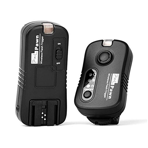 Pixel Wireless Flash Trigger for Sony Flash Multi-purpose 100m with Shutter Remote Control Function