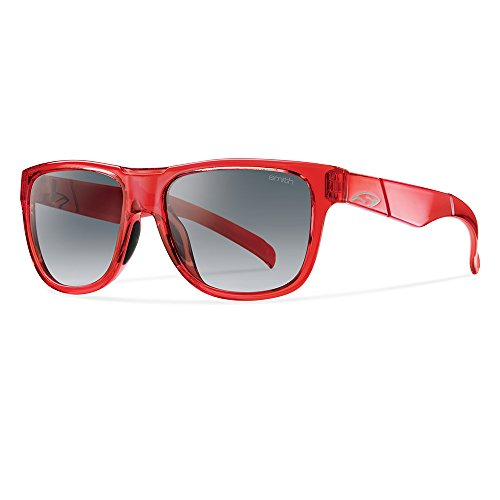 SMITH - Lunette de soleil Lowdown slim Rectangulaire CRYST RED