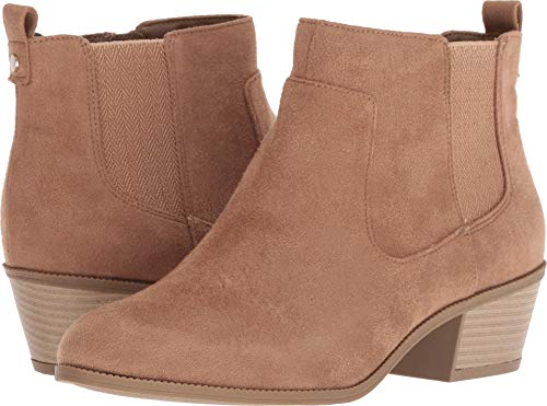 Dr. Scholl's Women's Belief Ankle Boot, Toasted Coconut Micr
