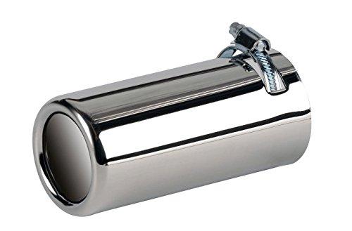 f/ür Auspuff-Durchmesser 45-55 mm Tuning-Pro Auspuffblende BASIC-LINE rund 700014