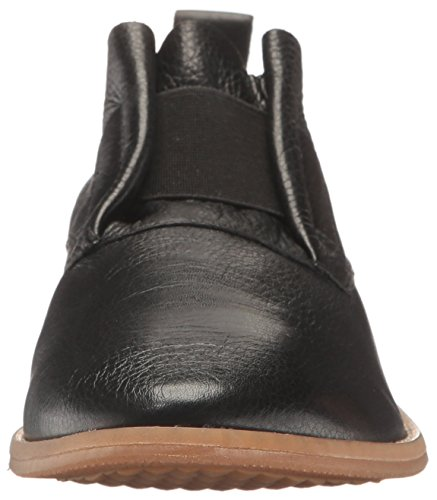 Puppies Clever Flat Black Leather Hush Annerley Women's dqtxwdvWS6