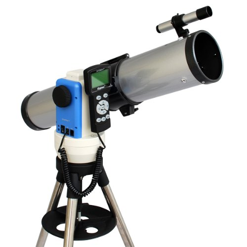 Silver 3'' Computer Controlled Reflector Telescope / Built-in Automatic Star Finding Computer / iOptron SmartStar-E ''Go To'' Mount / Full Size Tripod