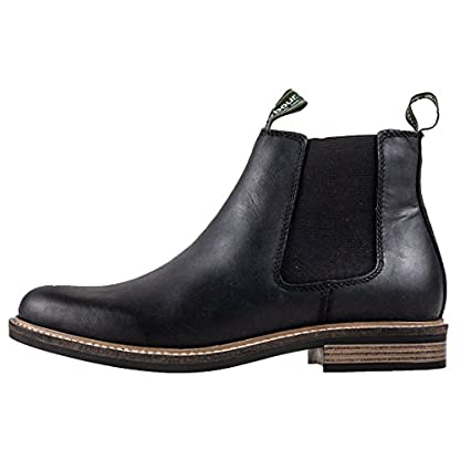 Barbour FARSLEY Ankle Boots/Boots Men Black Mid Boots 5