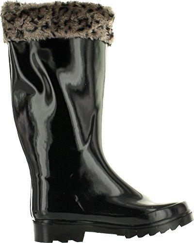 Rubber Dk New Brand Fashion de Rain Green pluie Women's Boots Bottes HgaOwSq