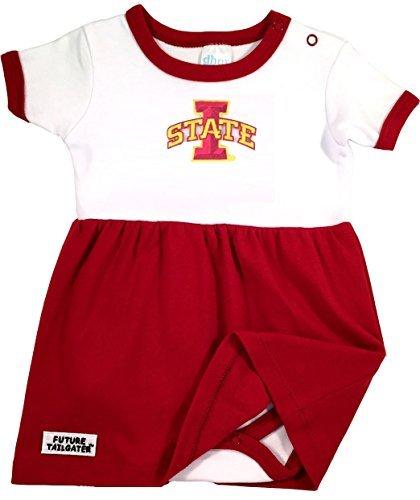 Future Tailgater Iowa State Cyclones Baby Onesie Dress