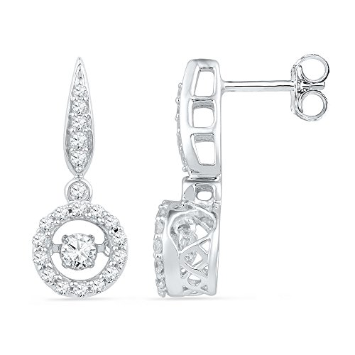 5/8 Total Carat Weight DIAMOND FASHION EARRING by Jawa Fashion