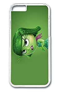 VUTTOO iPhone 6 plus Case, 6 plus Case - VUTTOO Highly Protective Clear Case Cover for iPhone 6 plus Inside Out 2015 Disgust Disney Pixar Scratch Resistant Crystal Clear Hard Case Bumper for iPhone 6 plus 5.5 InchesMaris's Diary