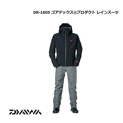 ダイワ ゴアテックス プロダクト レインスーツ DR-1605 B00TJUSJ3M  ブラック XXL