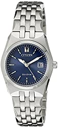 Citizen Eco-Drive Women's EW2290-54L Stainless Steel Bracelet Watch