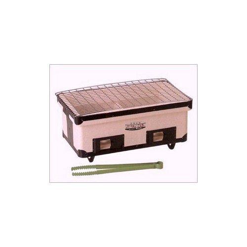キンカ 角型ワイドコンロ(七輪)B3☆W410 アウトドアでのバーベキューに最適!炭火で美味しさUP B006MPF0AM