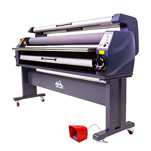 Wide Format Laminator Machine 63in Enhanced Version Heat Assisted Cold Laminator-US Stock