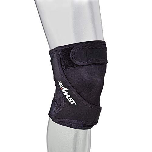 Zamst RK-1 Runners Right Knee Brace, Black, Small