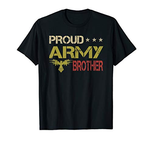 Retro Army Girl Costume (Vintage retro Proud Army Brother, Love Life Army USA gift)