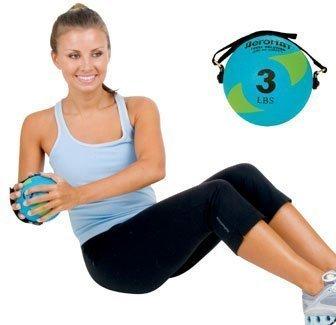Amazon.com: Aeromat Power Yoga/Pilates bola de peso de 3 lb ...