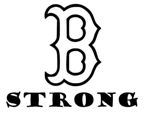 Boston Red Sox Car Accessories - Decor Vinyl Store Boston Strong Redsox-Automobile Window Decal 6.1