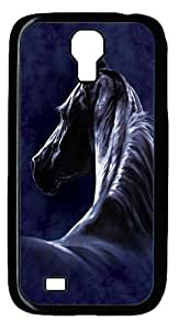 Cool Painting Samsung Galaxy I9500 Cases & Covers -Moonlit Horse Polycarbonate Hard Case Back Cover for SamSung Galaxy S5 I9600 (picture is Galaxy S4£©