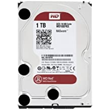 WD Red 1TB NAS Hard Disk Drive - 5400 RPM Class SATA 6 Gb/s 64MB Cache 3.5 Inch - WD10EFRX