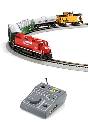 Athearn - HO GP38-2 Iron Horse Train Set, CPR/Flags