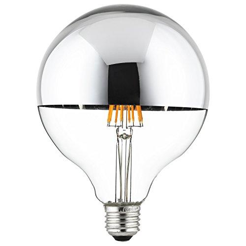 G40 Compact Fluorescent Light Bulb - Sunlite 80506 Led Filament G40 Globe 7-Watt (75 Watt Equivalent) Clear Dimmable Light Bulb, 2700K - Warm White