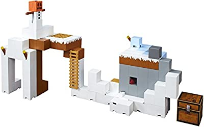Mattel Minecraft Tundra Tower Expansion Playset