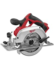 """Milwaukee M18 2630-20 18 Volt Lithium Ion 6-1/2"""" 3,500 RPM Cordless Circular Saw w/ Magnesium Guards and Included 24-Tooth Carbide Wood Cutting Blade"""