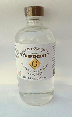8 Oz 100 Pure Gum Spirits Of Turpentine