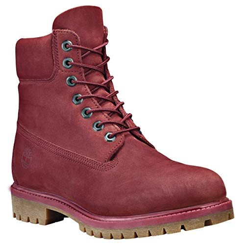inch Mens Boot 6 Pomegranate Waterbuck Premium Timberland qga8fA8