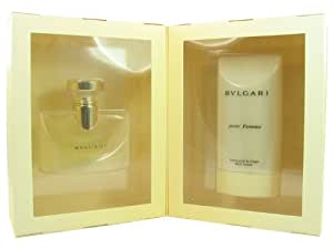 BVLGARI By Bvlgari For Women EAU DE PARFUM SPRAY 3.4 OZ & BODY LOTION 6.8 OZ
